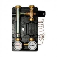 """Насосная группа Meibes с термостатическим приводом смесителя (30-65 С)1"""" без насоса"""