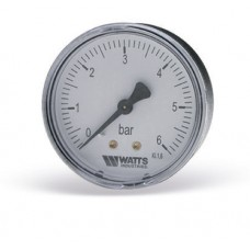 Манометр Watts аксиальный F+R100 (MAL) 50-6