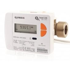 """Теплосчетчик ультразвуковой Q heat (US), Qn2,5, DN20, G1"""", L130, обратка"""